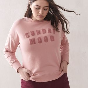 Additionelle | French Terry Sweatshirt Sunday Mood